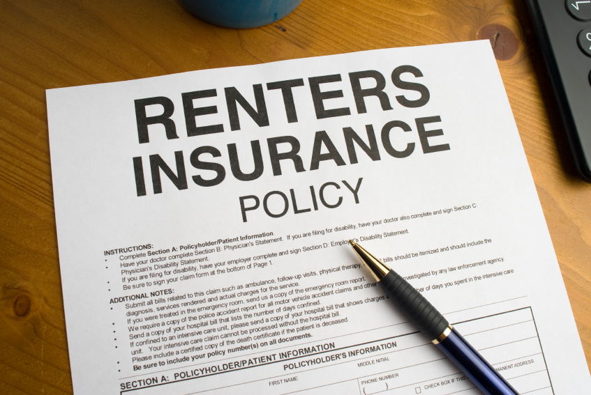 Renters Insurance in New Jersey contracts